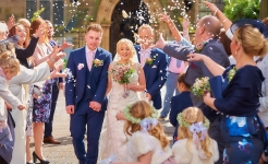 Stuart Wood Weddings / Emma and Ashley Confetti/ Horsley Lodge