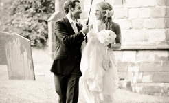 Stuart Wood Weddings / Thrumpton Hall Weddings / Nick & Helen Brolly