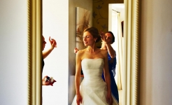 Stuart Wood Weddings / Cotswold 88 Weddings / Nicolas & Vanessa Mirror
