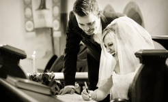 Stuart Wood Weddings / Thrumpton Hall / Jo and Lee Signing