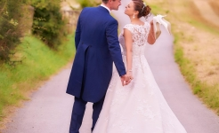 Stuart Wood Weddings / Swancar Country Farm Weddings / Jemma & Fraser Road