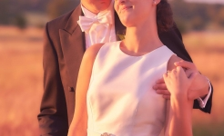 Stuart Wood / Jim & Jane / Sunset Glance / Four Seasons Hampshire Weddings